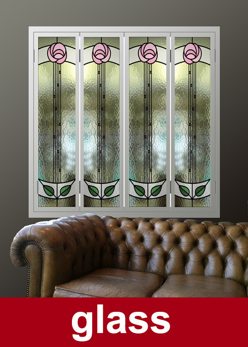 Bespoke Glass-window-shutters made to measure