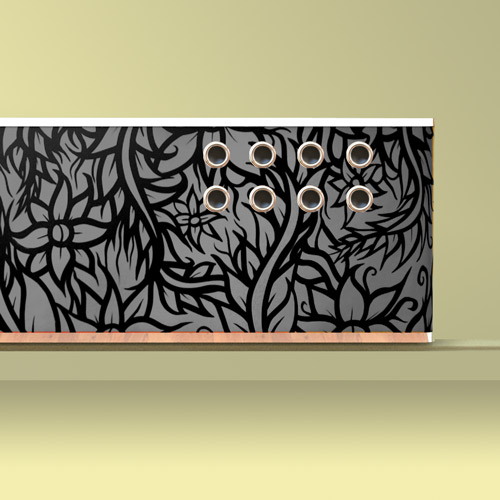 YOYO Graffiti radiator covers