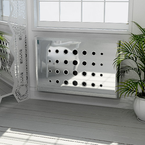 Mirror Radiator Covers And Mirror Console Tables Modern