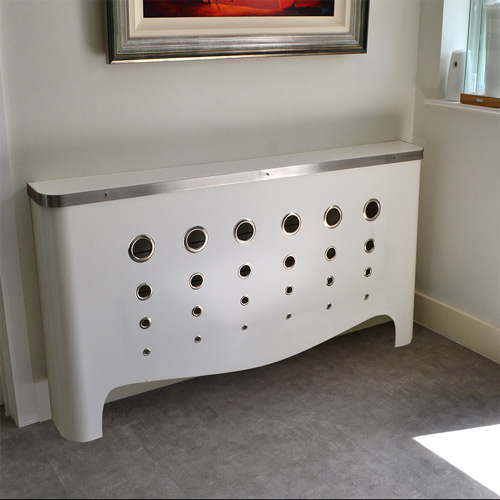 CASA Deco in satin white