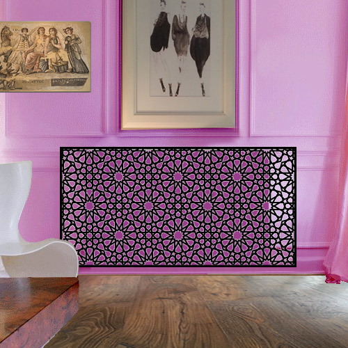 Arabian fretwork modern radiator covers