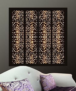 black light interior window shutters for the modern home