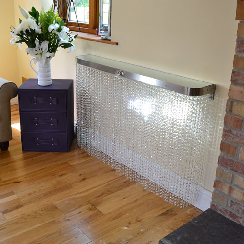 Shimmering Crystal Radiator Covers And Console Tables