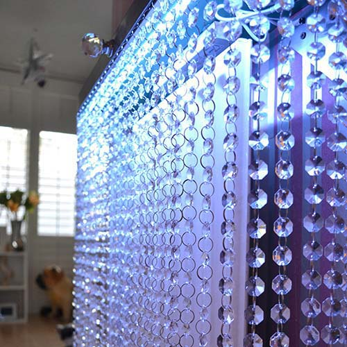 Crystal Clear Radiator Cover