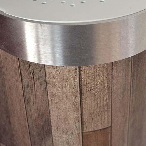 Dark Pine Parquet Radiator Cover