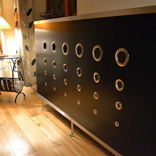 YOYO Deco Black Radiator Cover