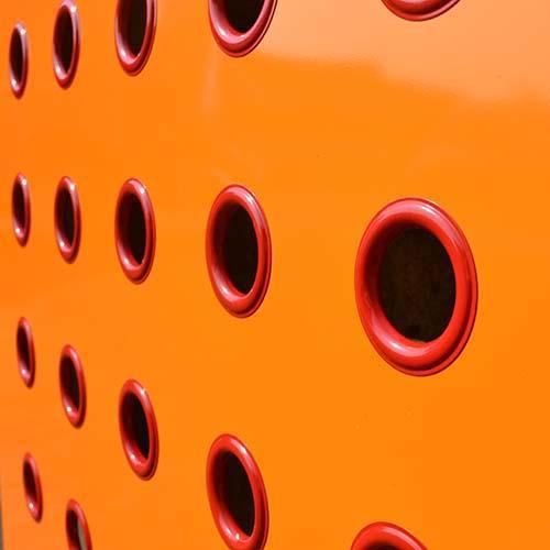 YOYO Orange / Red Radiator Cover