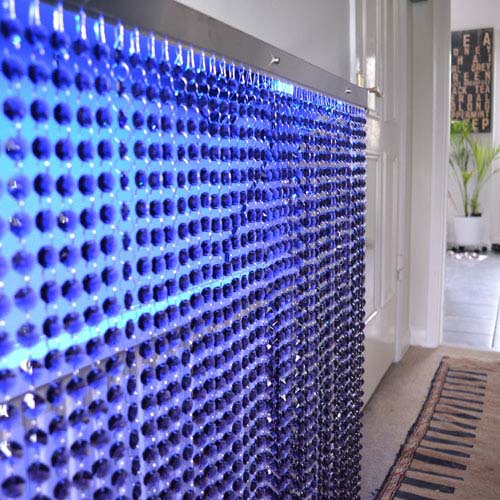 Crystal Grey blue light Radiator Cover