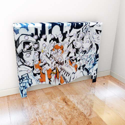 WAREHOUSE Graffitti 2 Radiator Cover