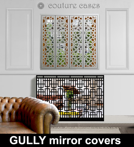 Gully Mirrored radiator covers and console tables Radiator Cover