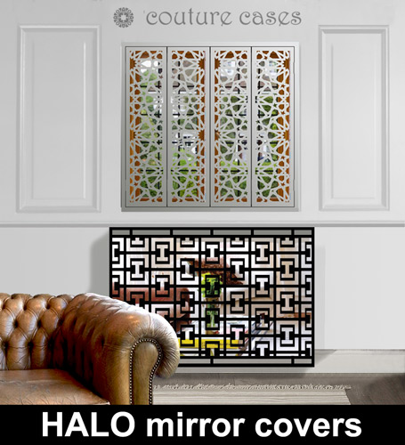 HALO mirrored radiator cover and console table Radiator Cover