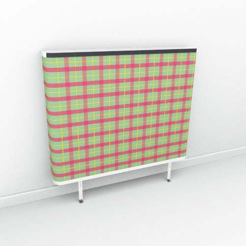 Heather Red Tartan Radiator Cover