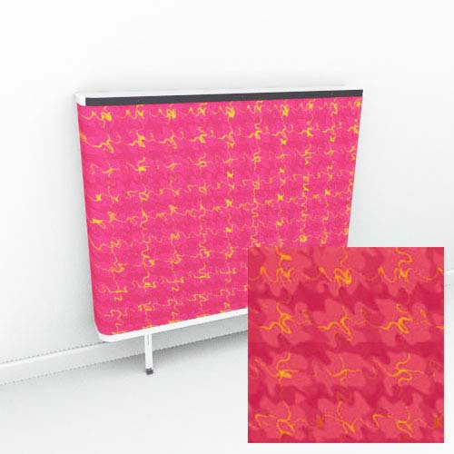 Red Yellow Tartan Extreme Radiator Cover