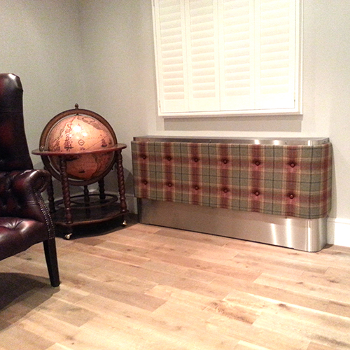 Fabric Soft Stamford Radiator Cover