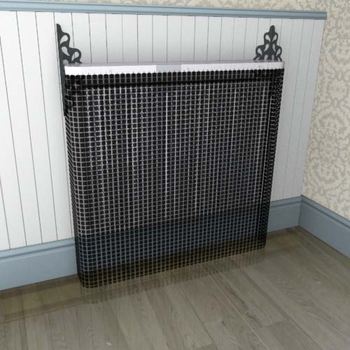 Crystal Black Cover Radiator Cover