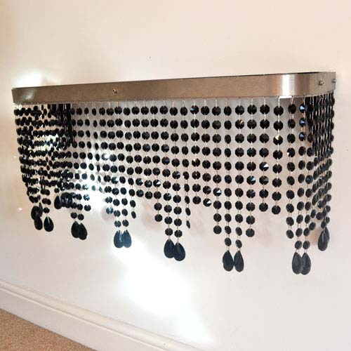 Crystal mantel Mirror top Radiator Cover