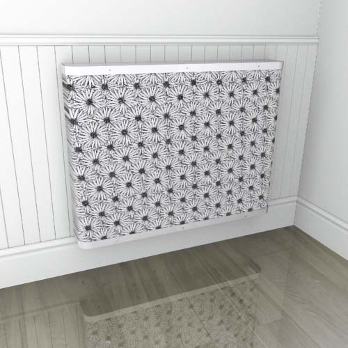 Mono Daisy Geometric Radiator Cover