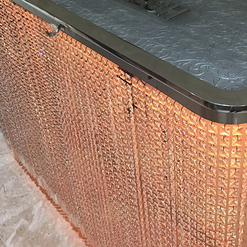 crystal-rad-cover-with-orange-lights.jpg Radiator Cover