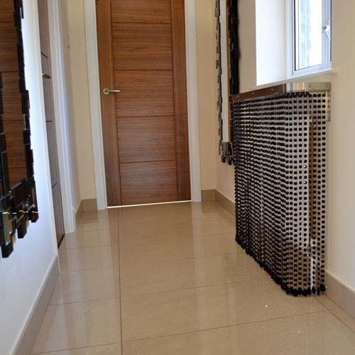 Black Crystal Cover Radiator Cover