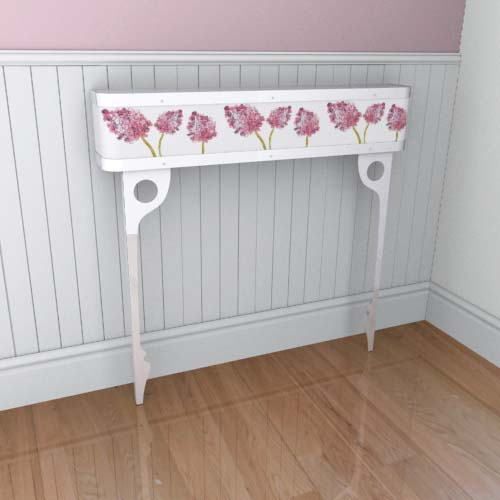 Emily Flowers 11 Console Radiator Cover