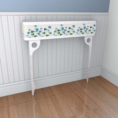 Emily Flowers 13 Console Radiator Cover
