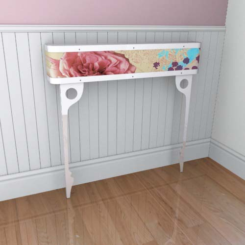 Emily Flowers 5 Console Radiator Cover