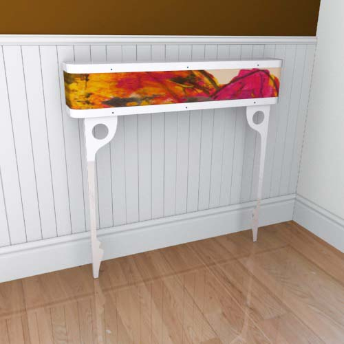 Emily Flowers 9 Console Radiator Cover