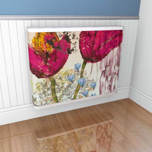Emily Flowers 6 Cover Radiator Cover