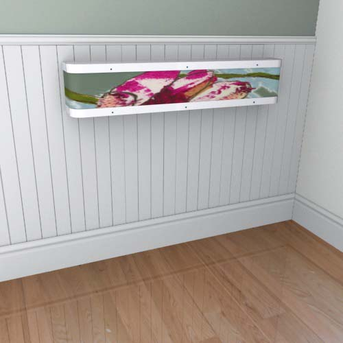 Emily Flowers 10 Mantel Radiator Cover