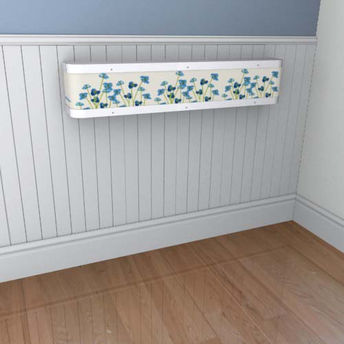 Emily Flowers 13 Mantel Radiator Cover