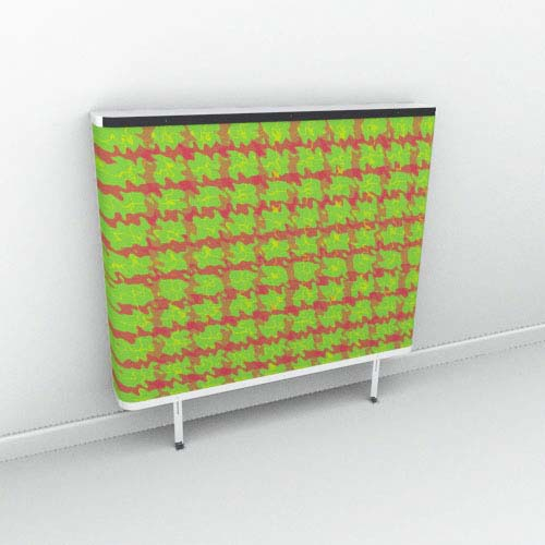 Green Red Tartan Extreme Radiator Cover