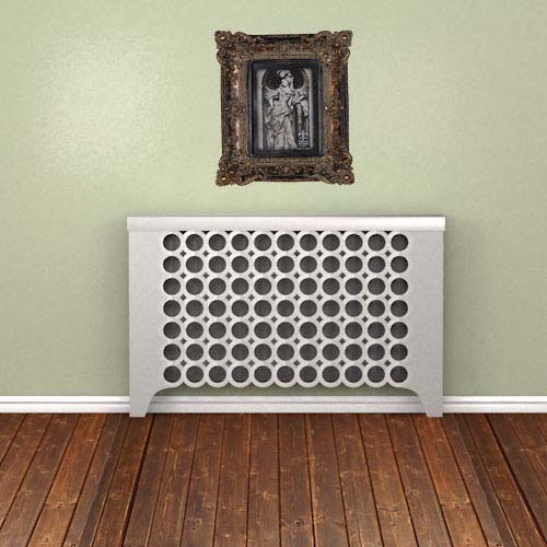 LONDON Galvanised covers Radiator Cover