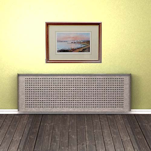 Galvanised Mesh Design Radiator Cover