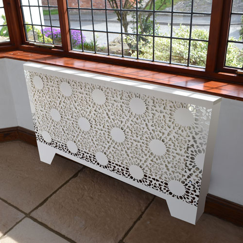 Sublime new LACE covers Radiator Cover