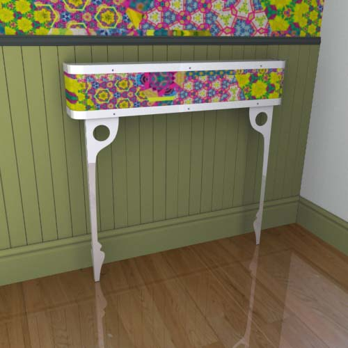 Kaleidoscope Console 17 Radiator Cover