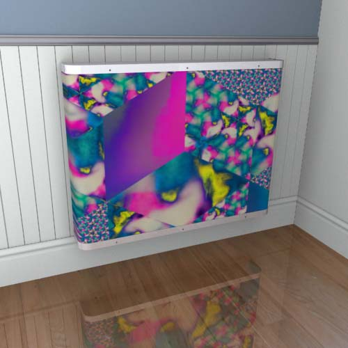 Kaleidoscope Cover 14 Radiator Cover