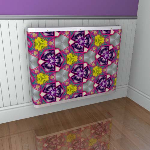 Kaleidoscope Cover 5 Radiator Cover