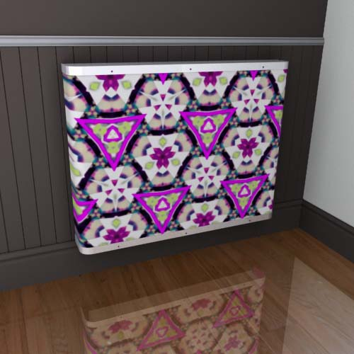 Kaleidoscope Cover 8 Radiator Cover
