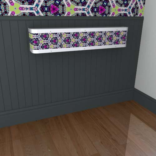 Kaleidoscope Mantel 11 Radiator Cover