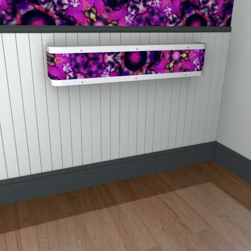 Kaleidoscope Mantel 12 Radiator Cover