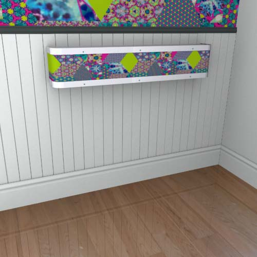 Kaleidoscope Mantel 13 Radiator Cover