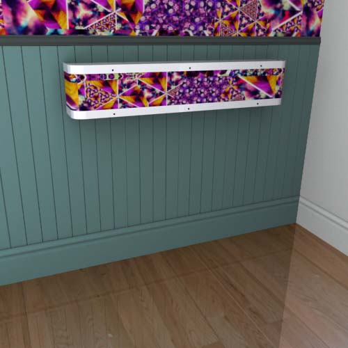 Kaleidoscope Mantel 16 Radiator Cover