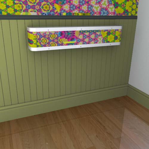 Kaleidoscope Mantel 17 Radiator Cover
