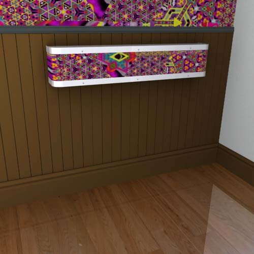 Kaleidoscope Mantel 18 Radiator Cover