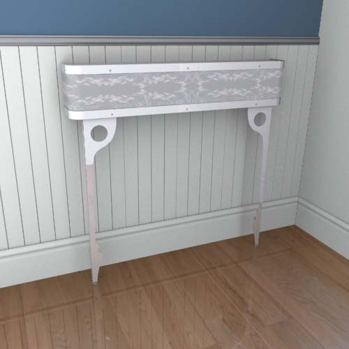 Organic Lace Console 1 Radiator Cover