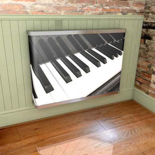 Piano Keys Radiator Cover