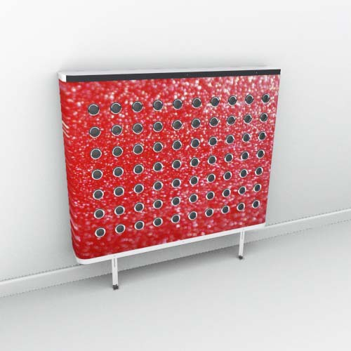 Rouge Red Sparkle Radiator Cover