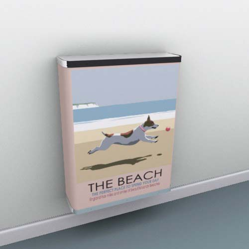 the_beach1.jpg Radiator Cover