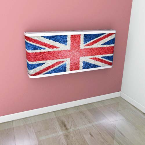 Union Jack Mantel 2 Radiator Cover