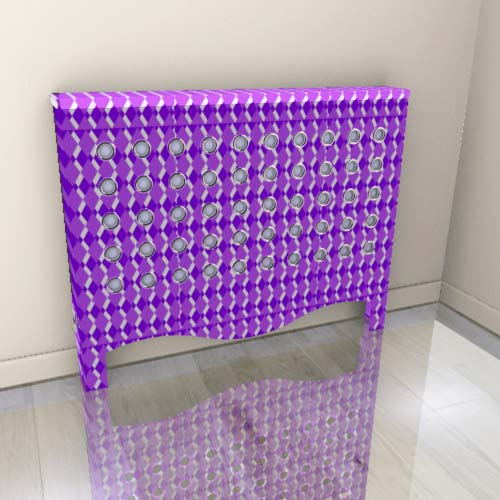 wa_geofine_purple.jpg Radiator Cover